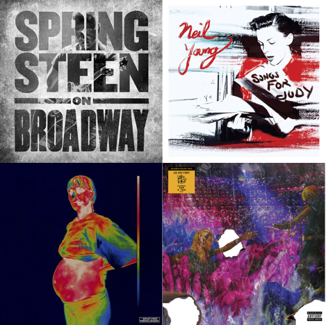New Release Friday Bruce Springsteen On Broadway Neil
