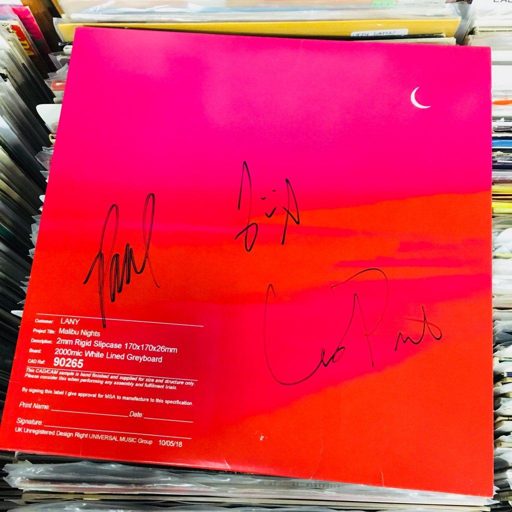 Malibu Nights Concert: ENTER TO WIN A SIGNED LANY 'MALIBU NIGHTS' VINYL LP